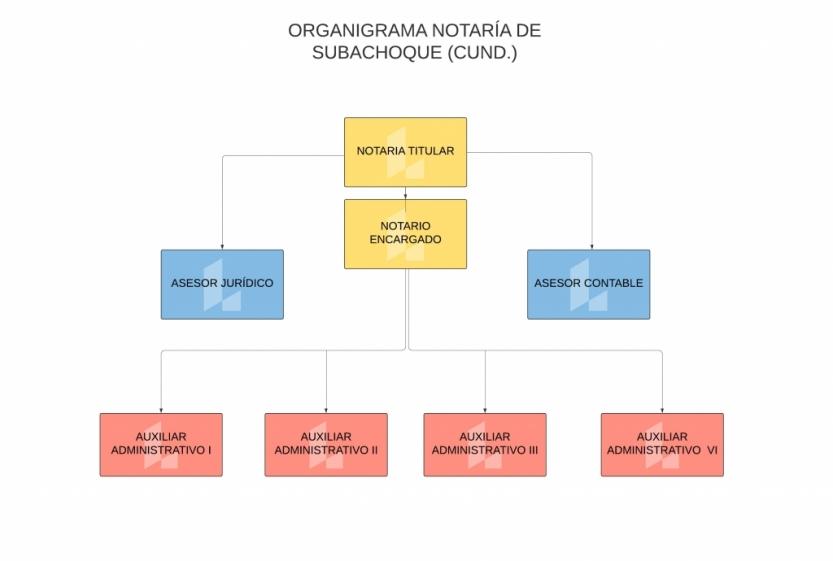 Organigrama Notaría